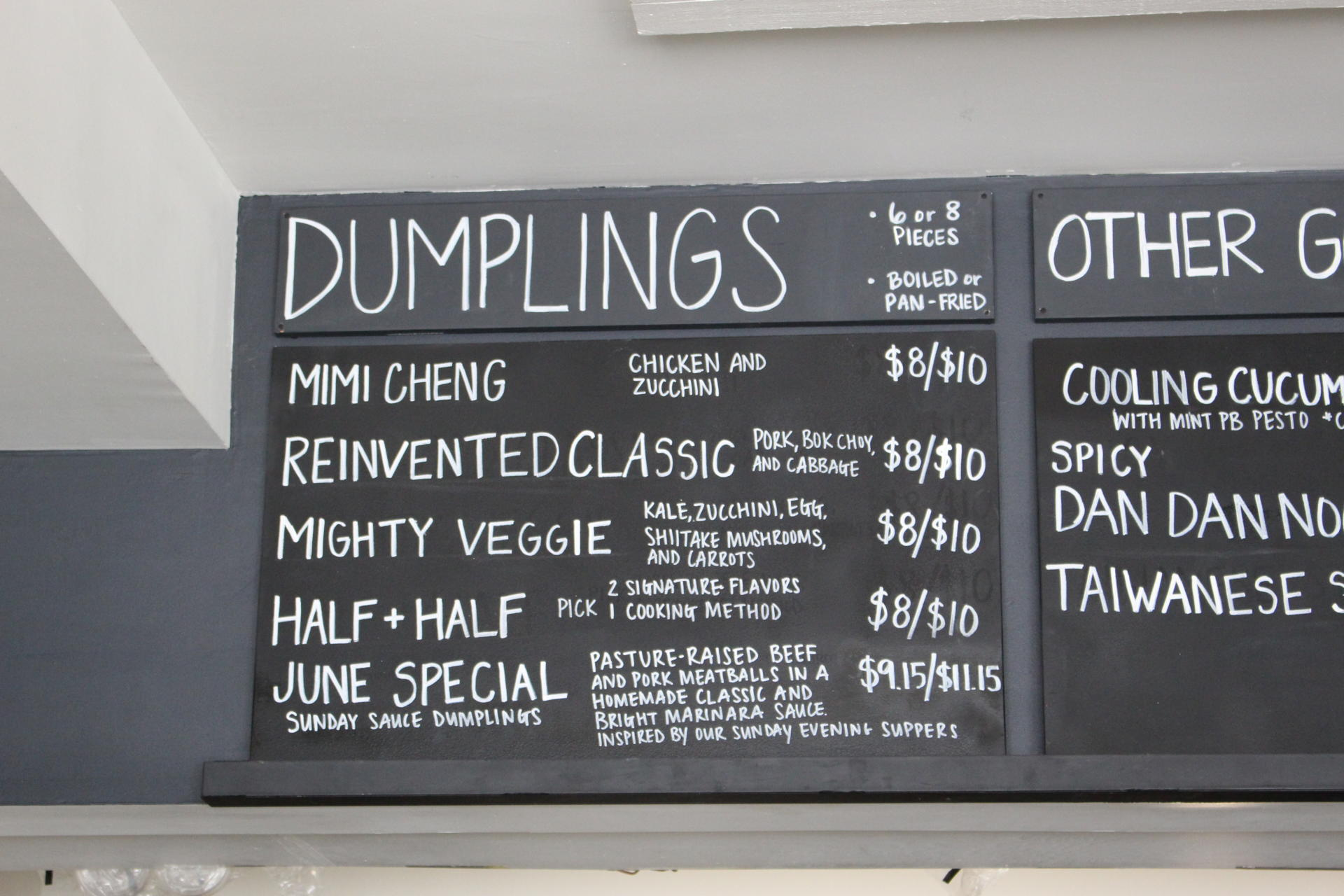 LOCAL: Make Way for Mimi Chengs Dumplings