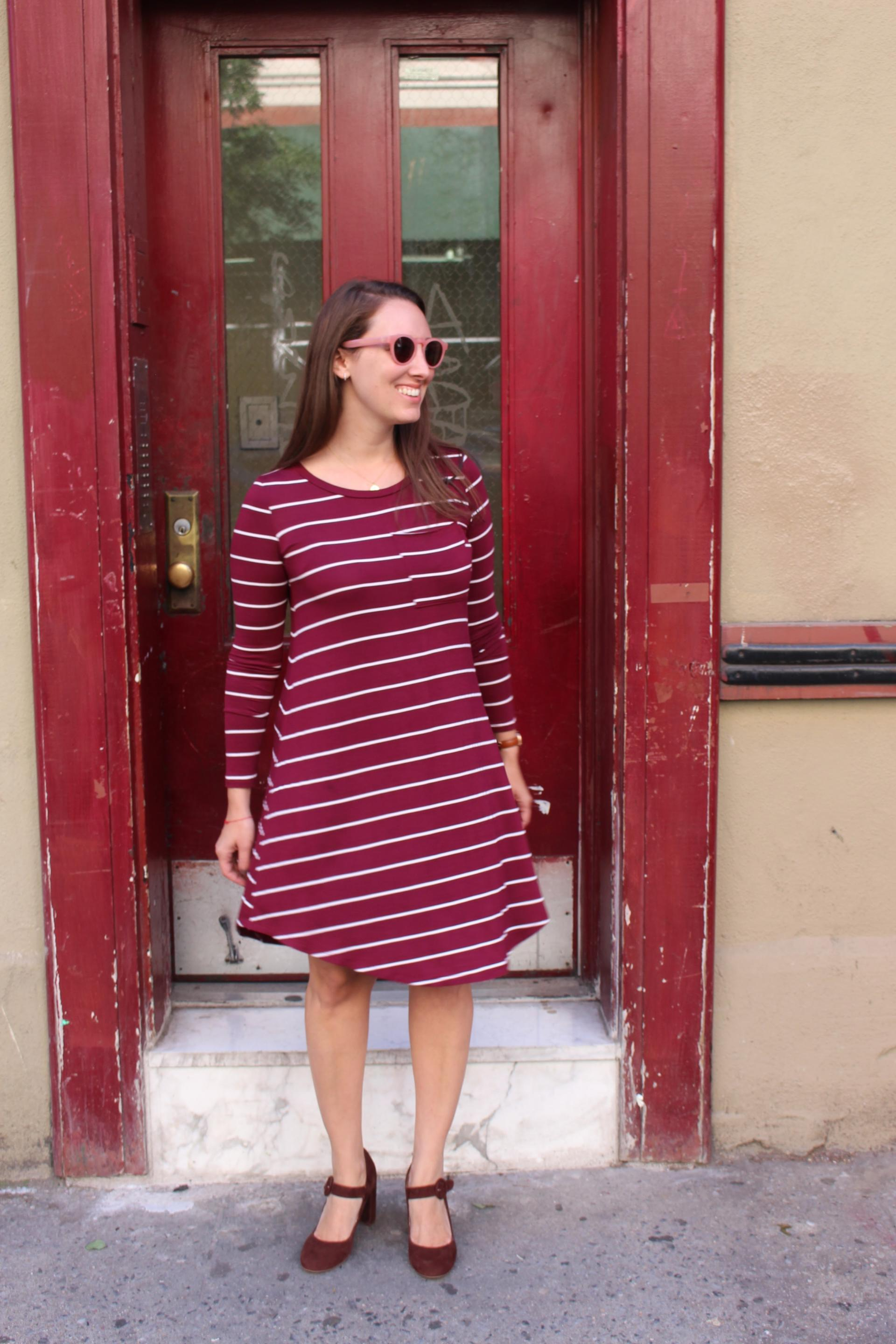 STYLE: Fall Stripes with My Sister's Closet Boutique
