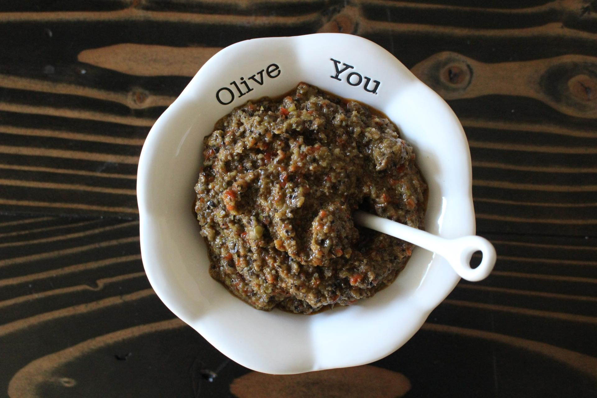 SAUCES AND SPREADS: Olive Tapenade