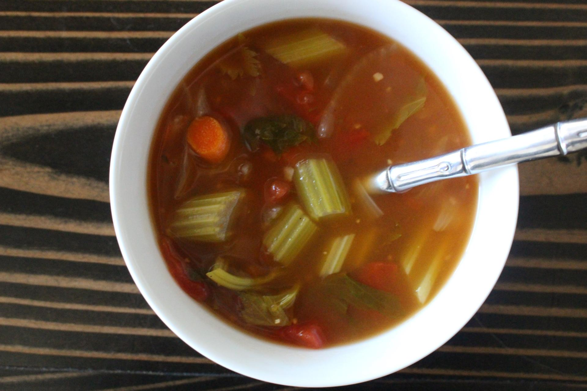 SOUP OF THE WEEK: Spicy Vegetable Soup