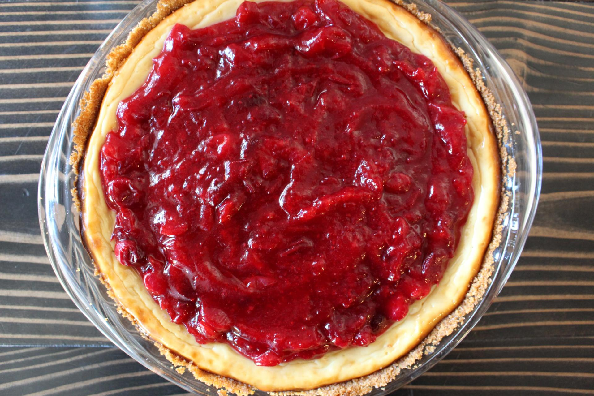 BAKE ME: Cranberry Cottage Cheesecake with Muuna