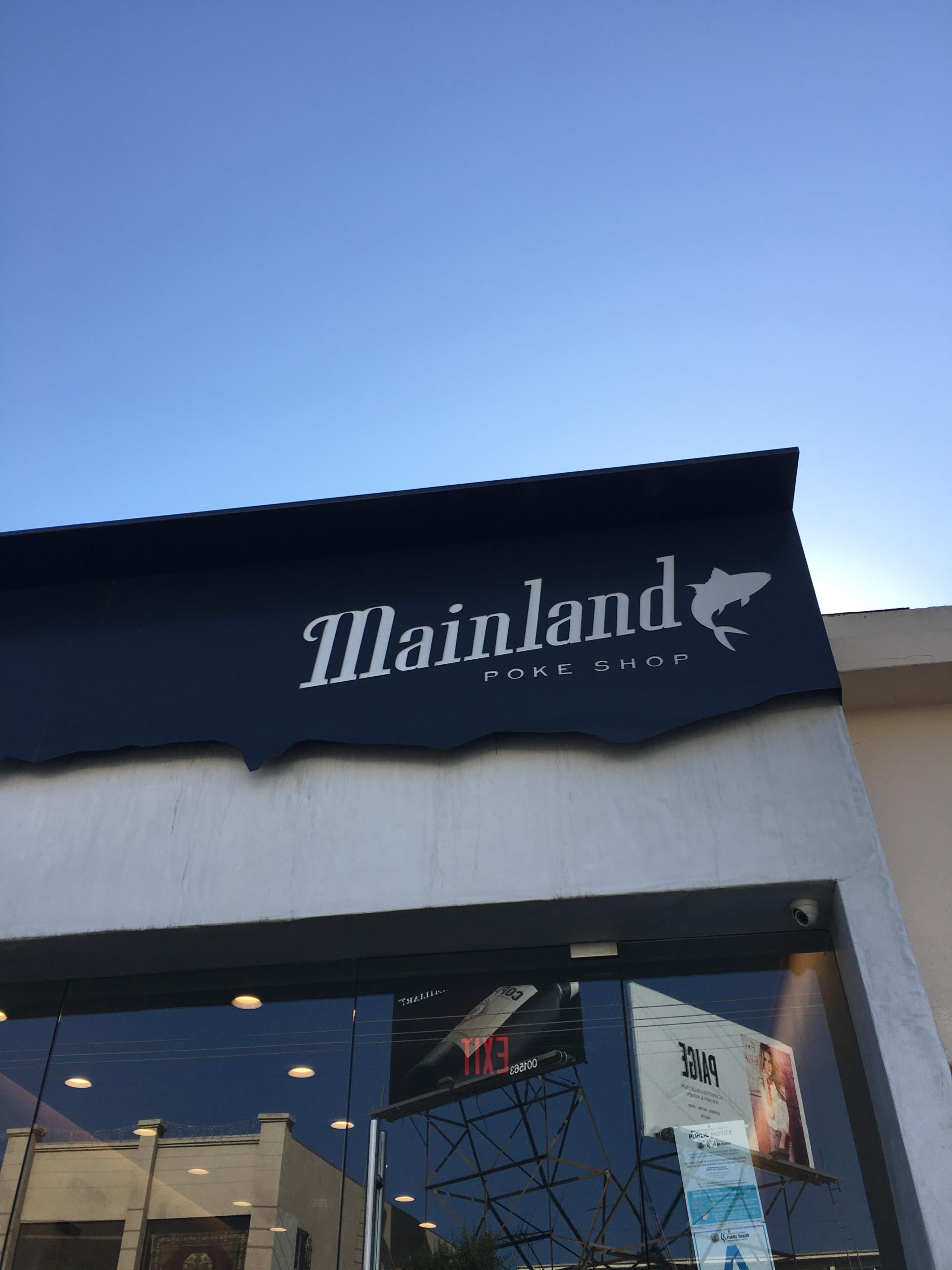 TRAVEL: Mainland Poke in Los Angeles
