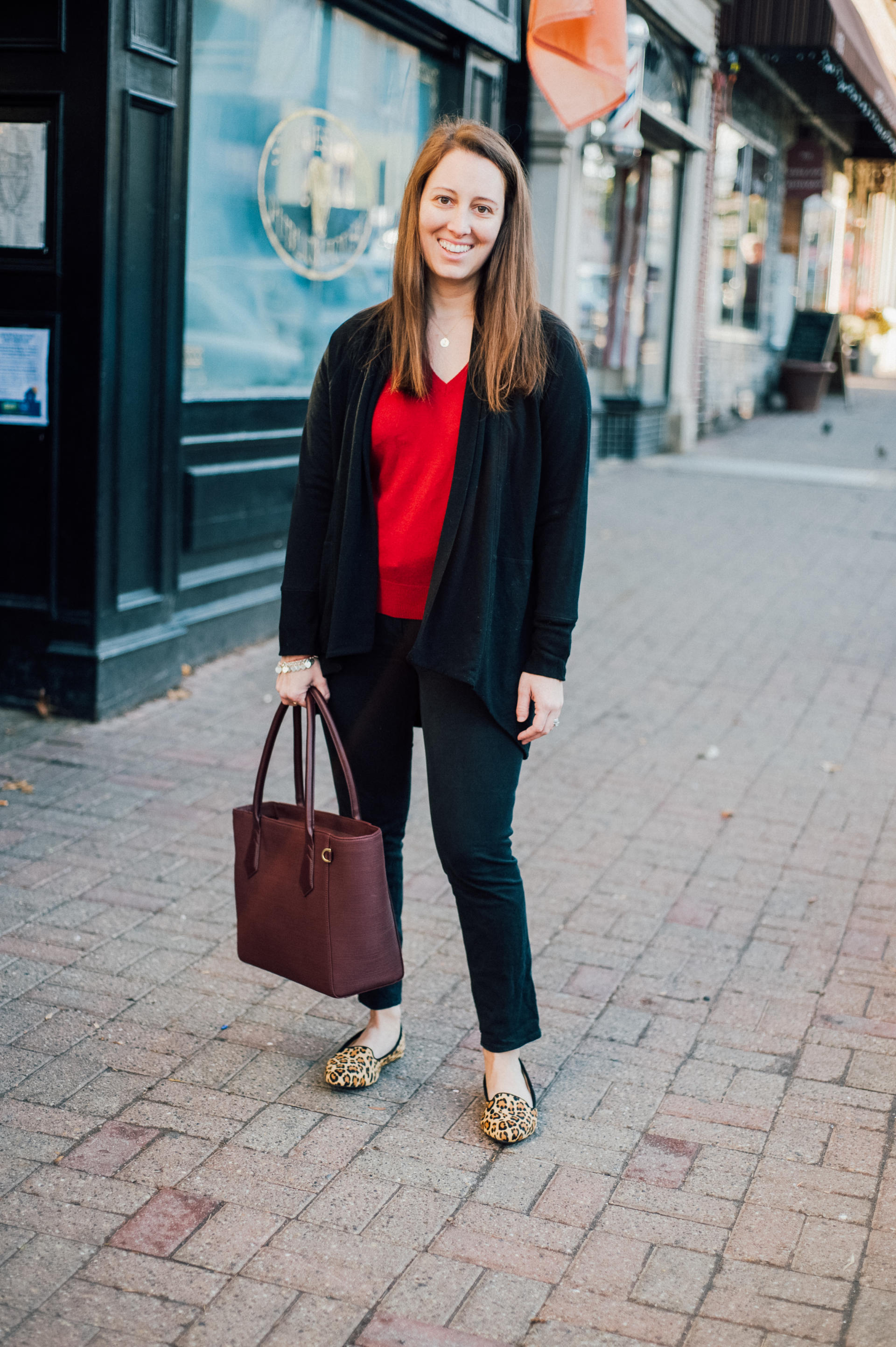 The Valentine's Day Lawyer with Birdies Slippers by popular New Jersey style blogger What's For Dinner Esq.