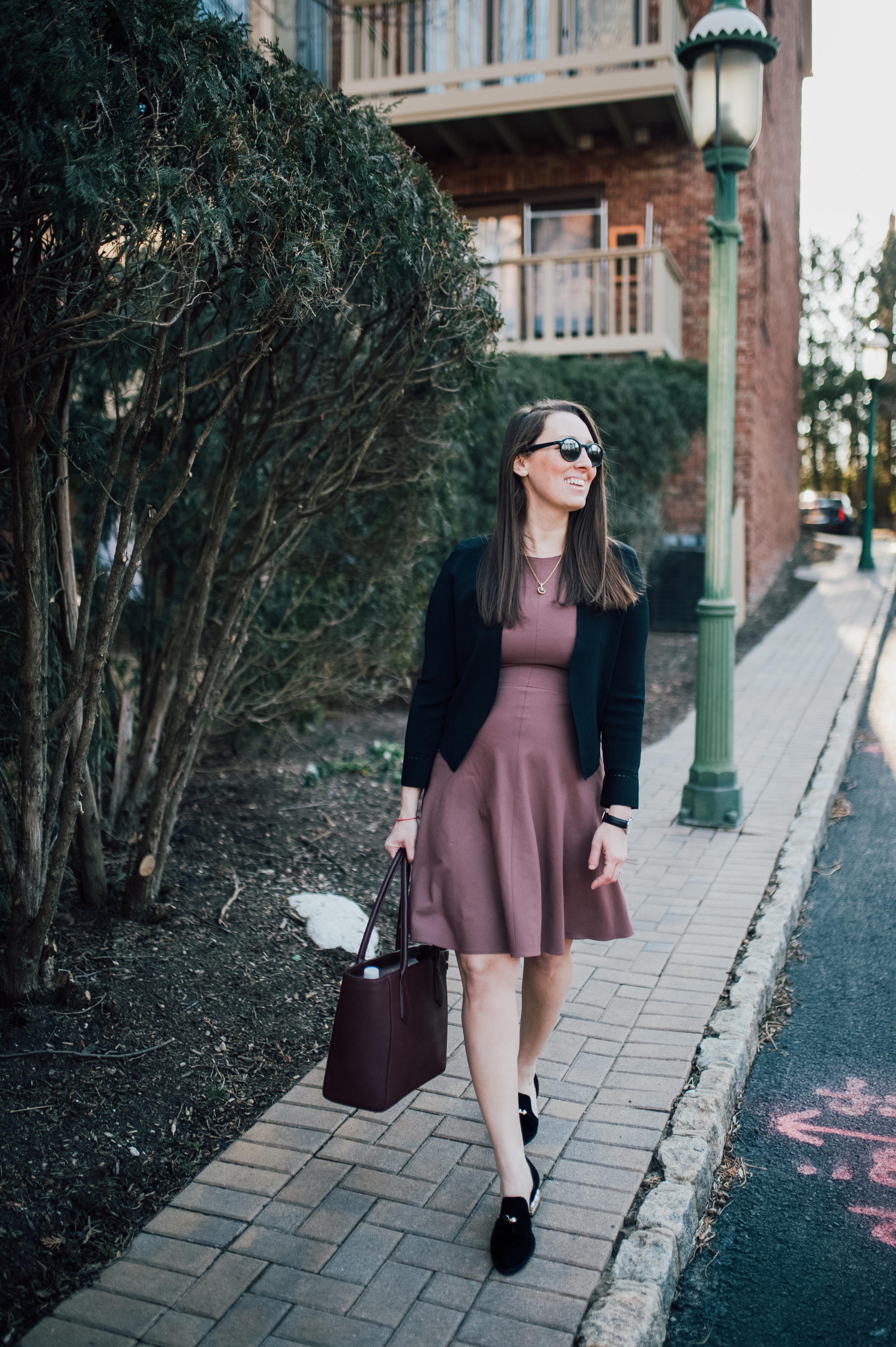 STYLE: The Spring Lawyer with MM La Fleur by New Jersey fashion blogger What's For Dinner Esq.
