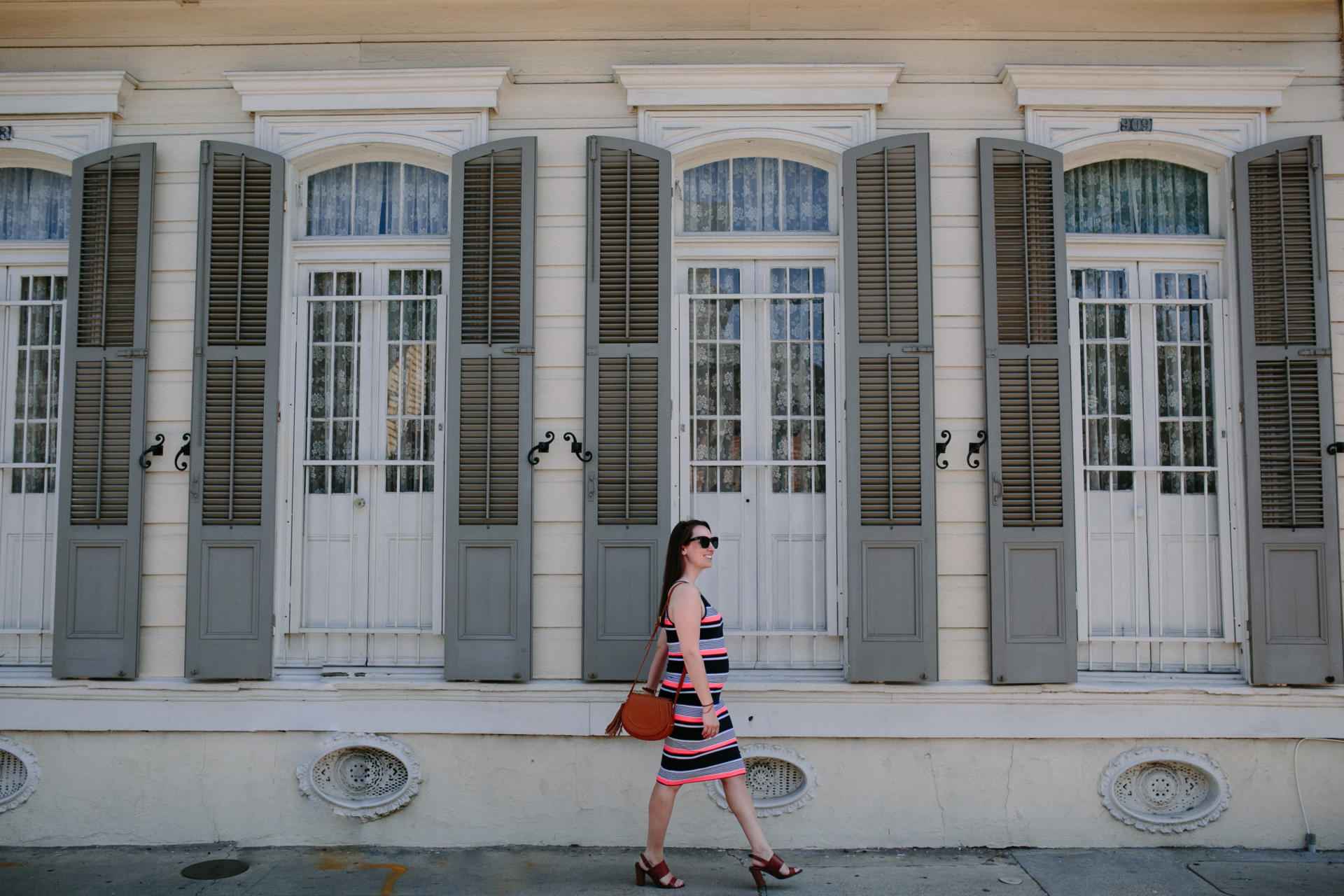 STYLE: French Quarter Stripes with a Superdry Dress by New Jersey style blogger What's For Dinner Esq.