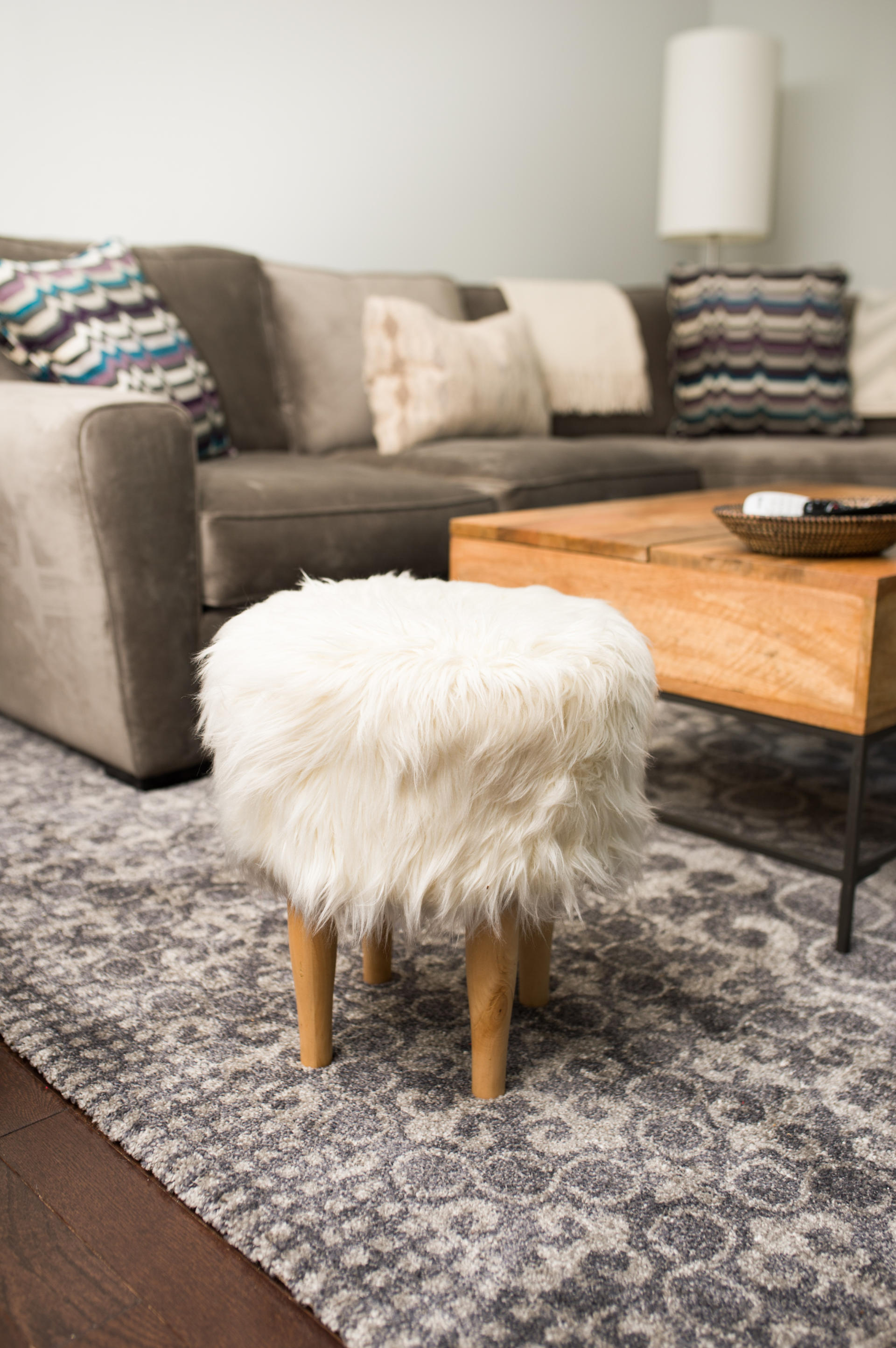HOME: Our New Living Room with Raymour and Flanigan Sofa by New Jersey lifestyle blogger What's For Dinner Esq.