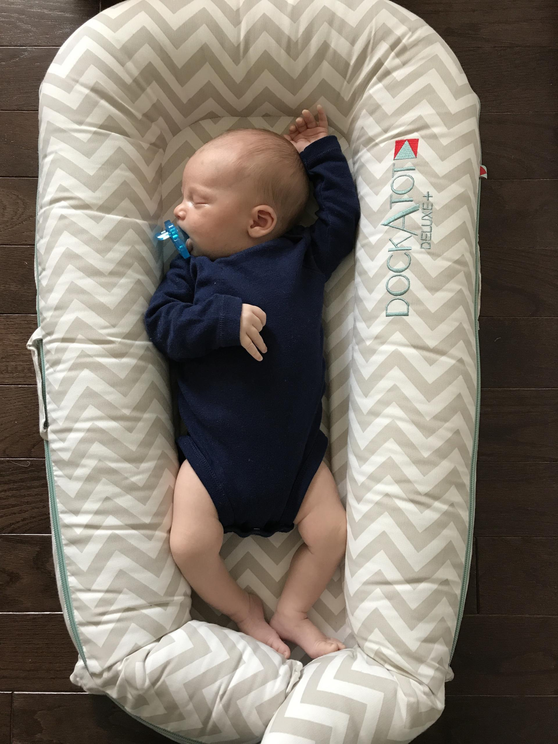 BABY: DockATot Deluxe Review by New Jersey lifestyle blogger What's For Dinner Esq.
