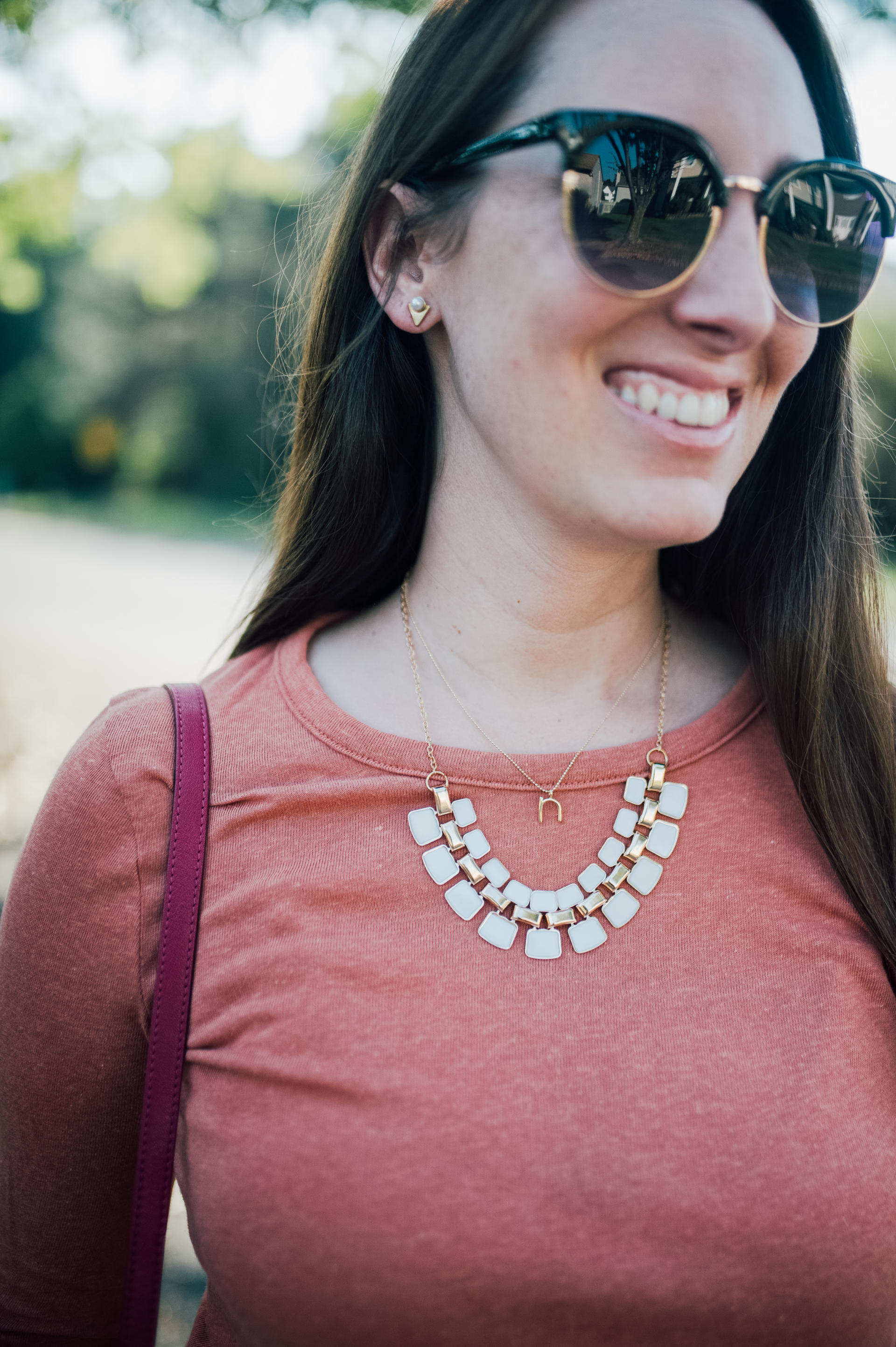 STYLE: Making a Statement with 7 Charming Sisters' Statement Jewelry by New Jersey style blogger What's For Dinner Esq.
