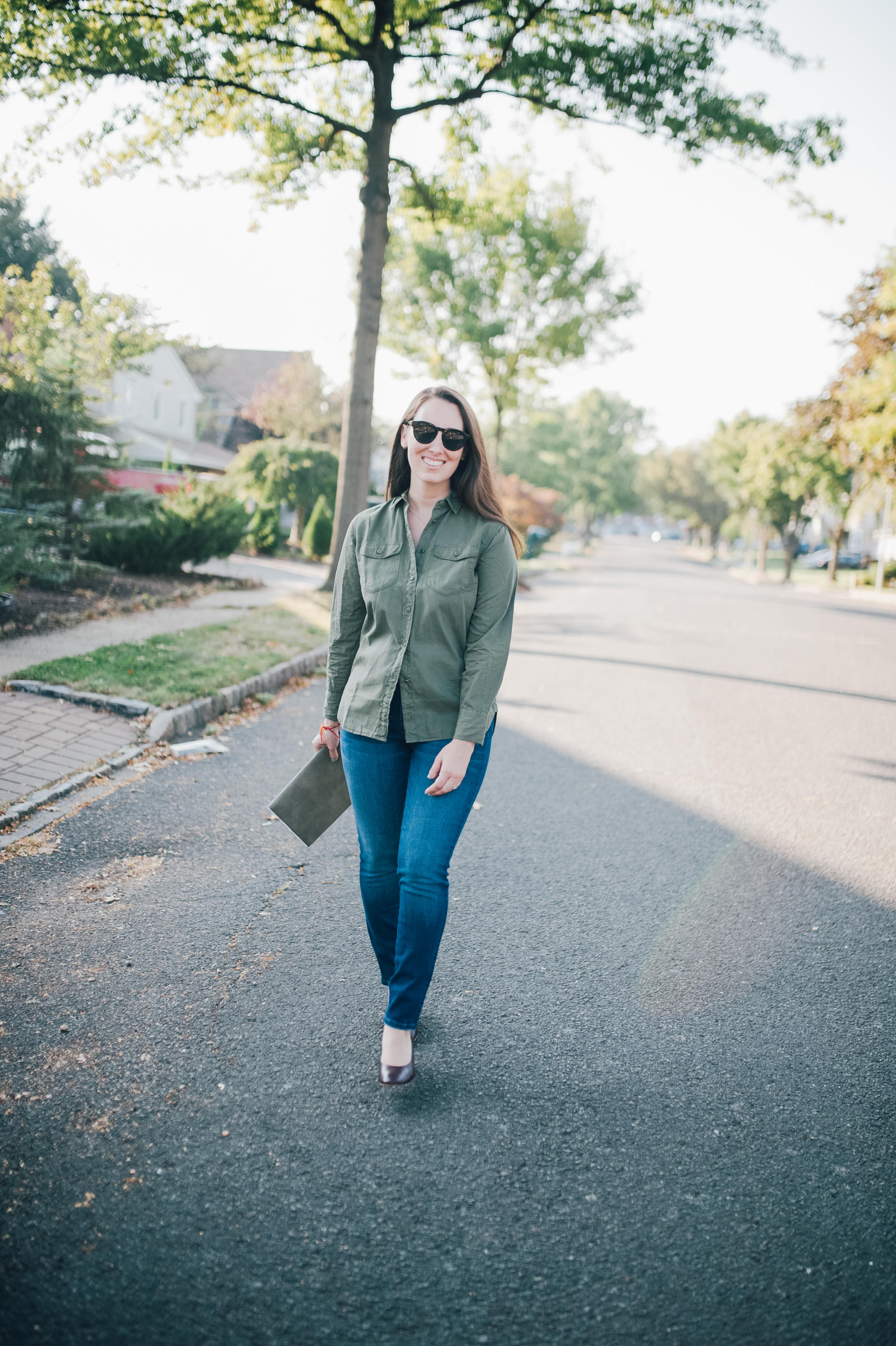 STYLE: Olive You - Trendy Olive Outfit by New Jersey fashion blogger What's For Dinner Esq.