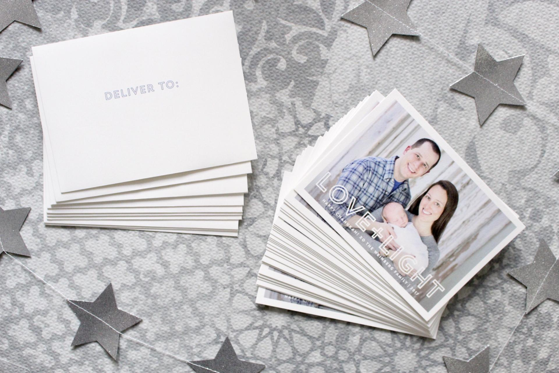 CELEBRATE: Minted Holiday Cards by New Jersey style blogger What's For Dinner Esq.