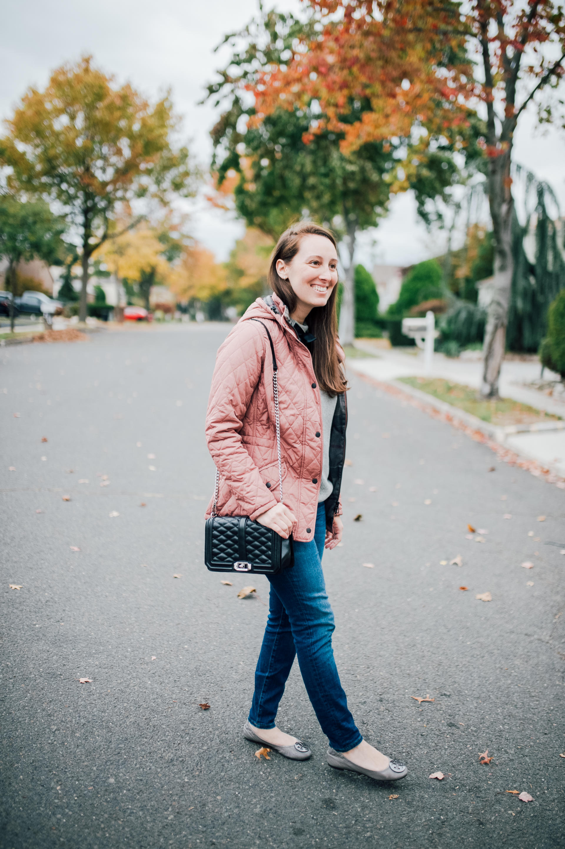 STYLE: Nordstrom Barbour Coat by New Jersey fashion blogger What's For Dinner Esq.