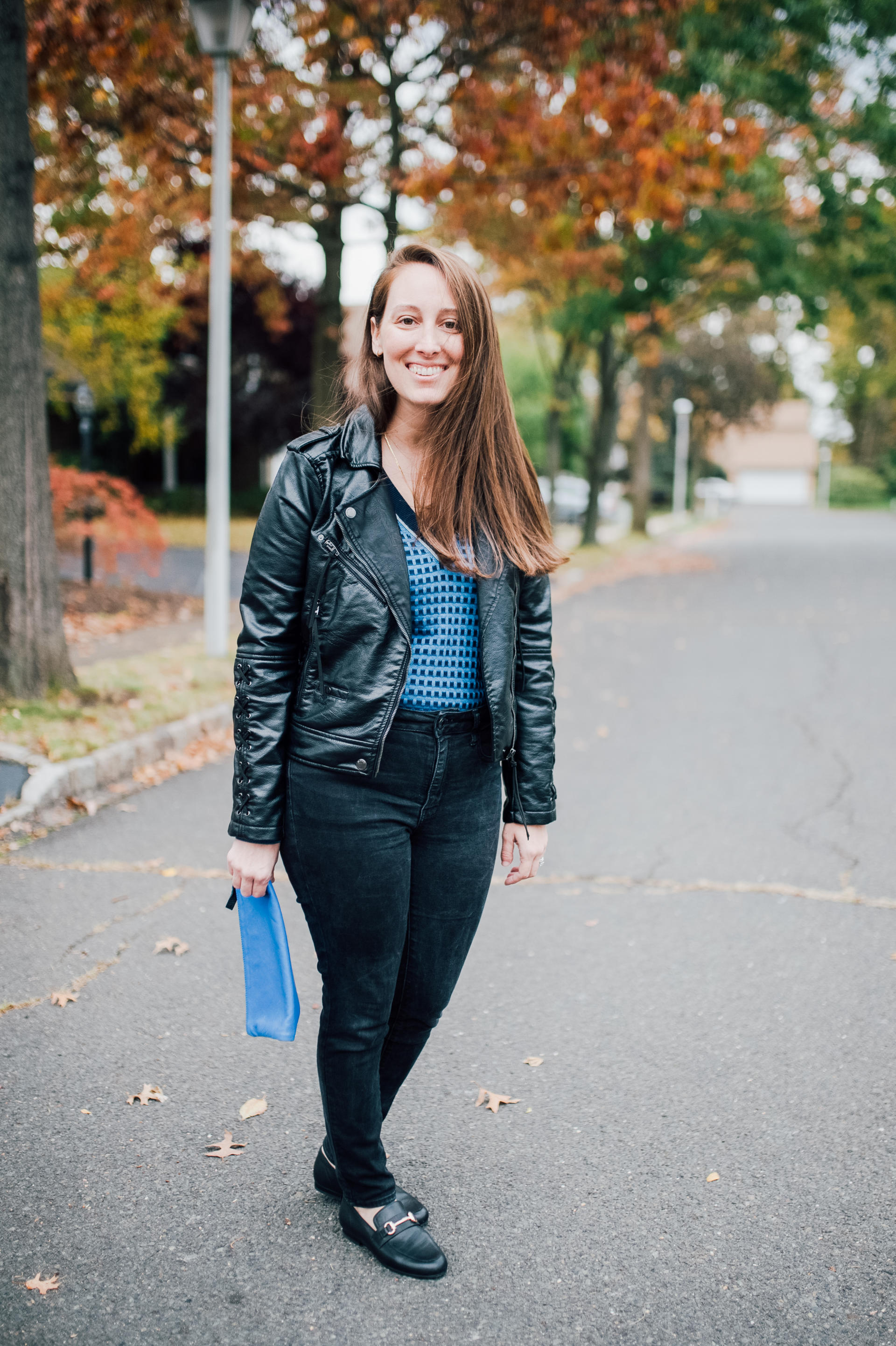 STYLE: (Vegan) Leather Weather by New Jersey style blogger What's For Dinner Esq.