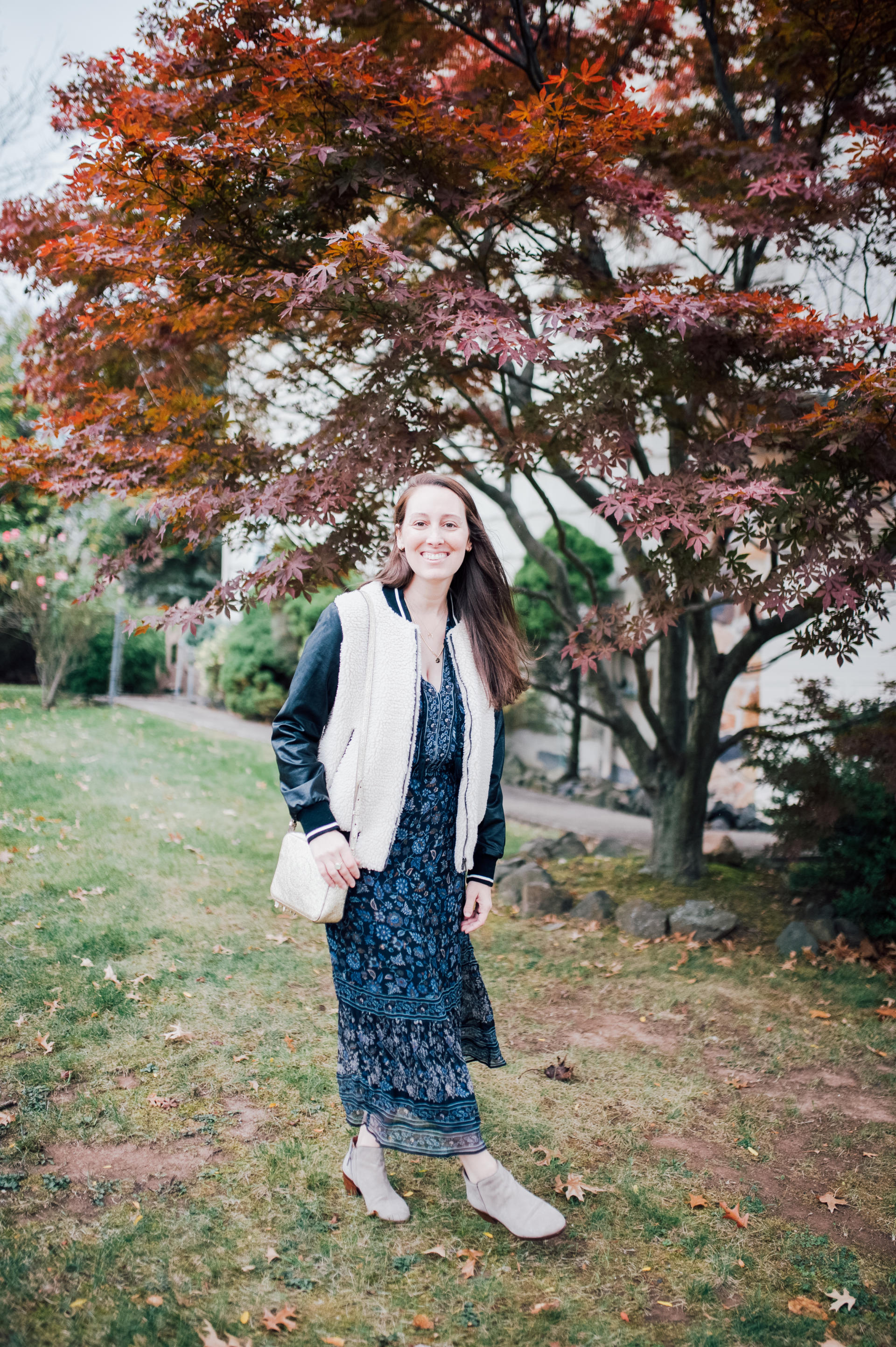 All Smiles: Favorite Fall Fashion Outfit by popular New Jersey fashion blogger What's For Dinner Esq.