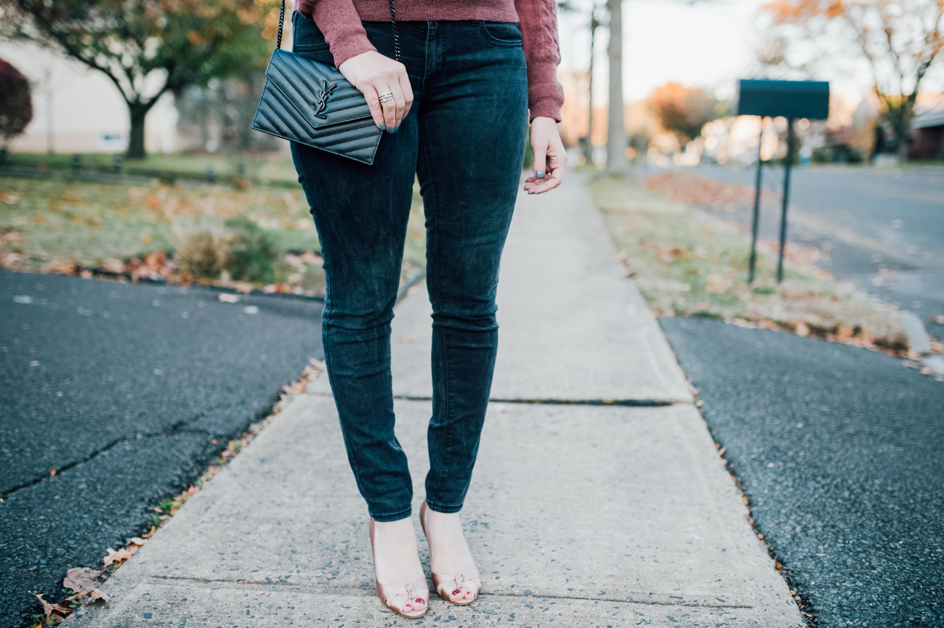Date Night Outfit with Doen by New Jersey style blogger What's For Dinner Esq.