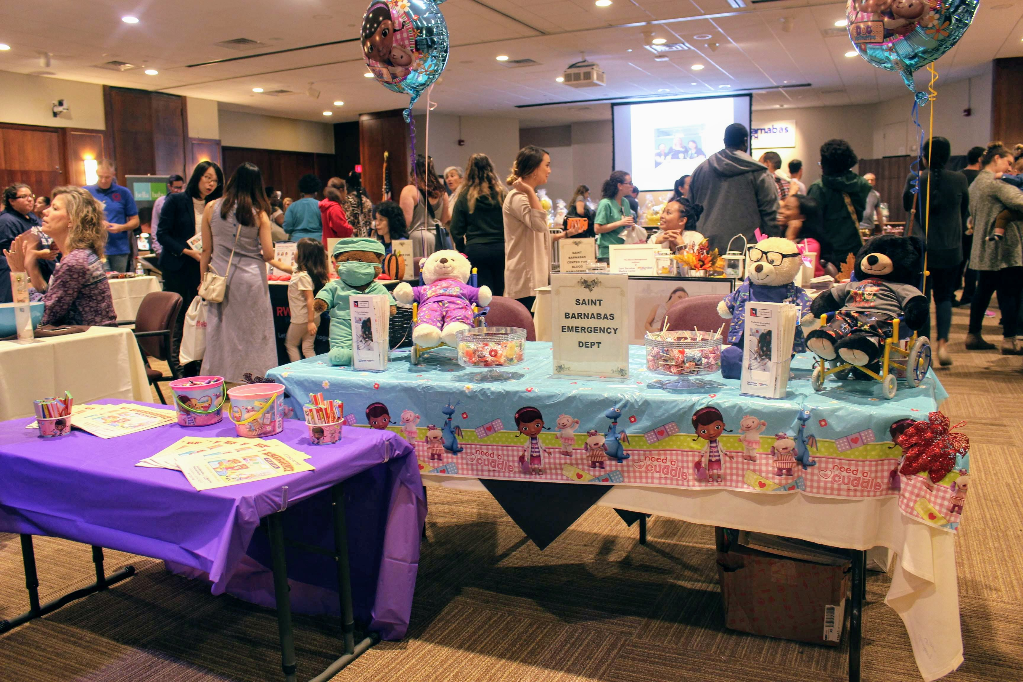 The Barnabas Baby Fair at St  Barnabas Medical Center with